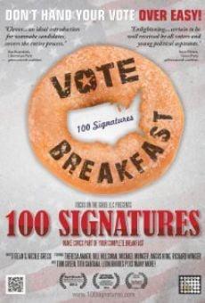 Ver película 100 Signatures