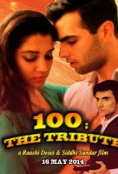Ver película 100: The Tribute