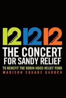 12-12-12: The Concert for Sandy Relief online