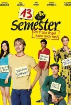13 Semester on-line gratuito