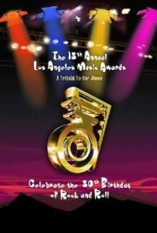 Película: 15th Annual Los Angeles Music Awards