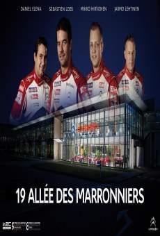 Ver película 19 allée des Marronniers - une saison de Rallye WRC