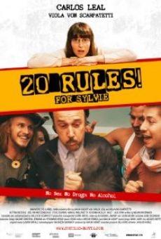 20 Regeln für Sylvie online