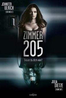 Ver película 205 la habitación del miedo