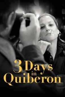 Ver película 3 días en Quiberon