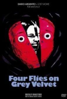 Ver película 4 moscas sobre terciopelo gris