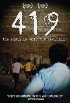 Ver película 419