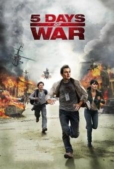 5 días de guerra online gratis