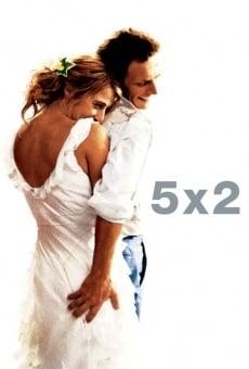 Ver película 5 x 2