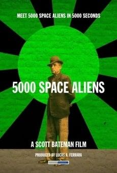 5000 alienígenas espaciales