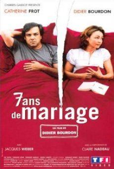 Ver película 7 años de matrimonio