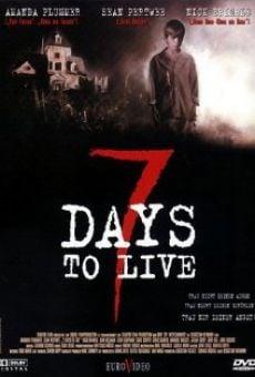 Ver película 7 días de vida