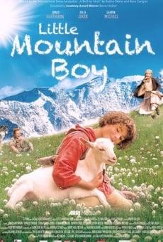 Pequeño niño de la montaña online