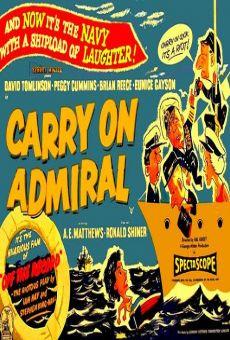 Ver película ¡A la orden, Almirante!
