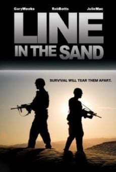 Ver película A Line in the Sand