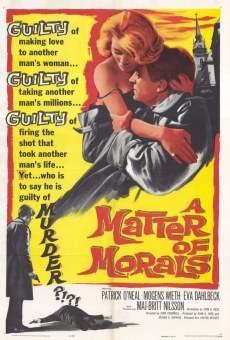 Ver película A Matter of Morals