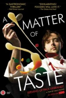 A Matter of Taste: Serving Up Paul Liebrandt online
