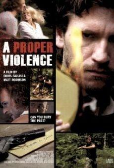 Ver película A Proper Violence
