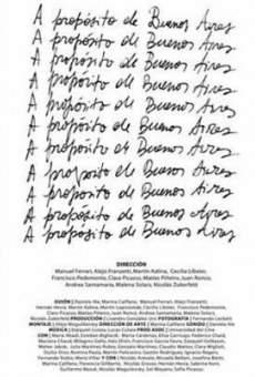 Ver película A propósito de Buenos Aires