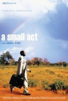 Ver película A Small Act