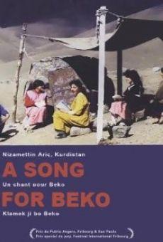 Ver película A Song for Beko