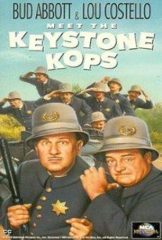 Ver película Abbott y Costello conocen a los policías de Keystone