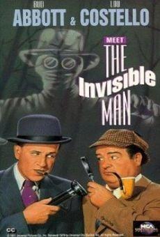 Abbott y Costello conocen al hombre invisible online