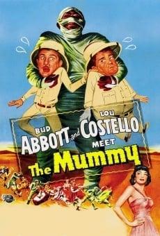 Abbott y Costello contra la momia online
