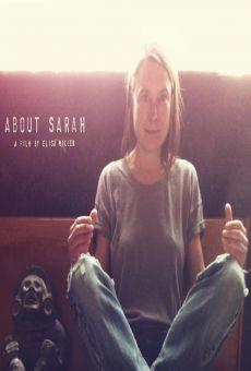 About Sarah online kostenlos