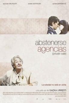 Ver película Abstenerse agencias
