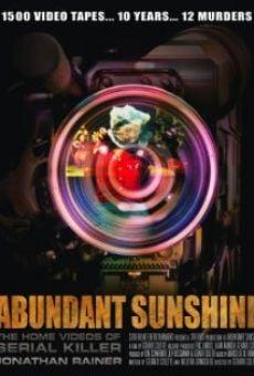 Abundant Sunshine online kostenlos