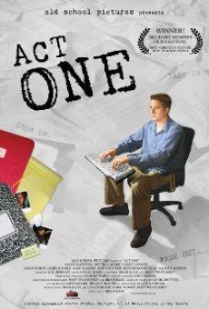 Act One en ligne gratuit