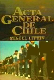 Acta General de Chile online