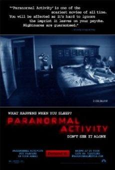 Ver película Actividad paranormal