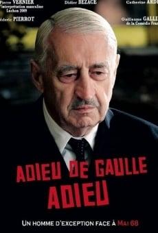 Adieu De Gaulle adieu on-line gratuito