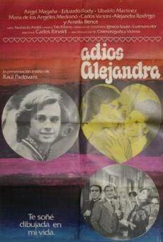 Adiós Alejandra online kostenlos