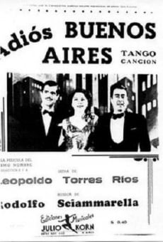 Adiós Buenos Aires online