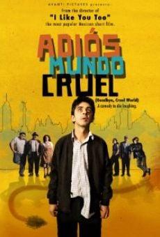 Ver película Adiós mundo cruel