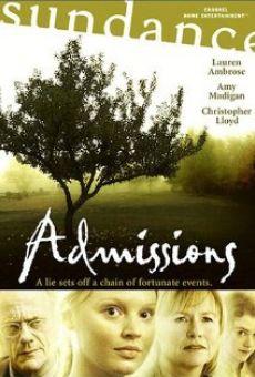 Ver película Admissions