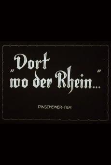 Ver película Ahí donde el Rin...