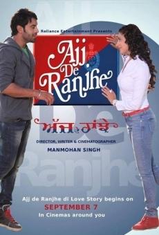 Ver película Ajj De Ranjhe