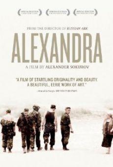 Ver película Aleksandra
