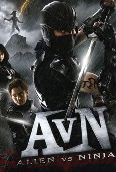 Película: Alien vs Ninja