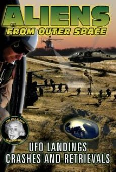 Aliens from Outer Space: UFO Landings, Crashes and Retrievals on-line gratuito