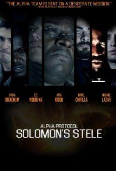 Alpha Protocol: Solomon's Stele online free