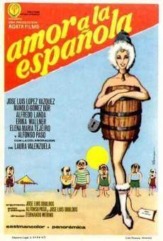 Ver película Amor a la española