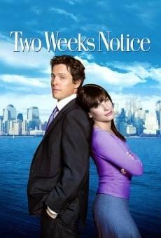Two weeks notice - Due settimane per innamorarsi online