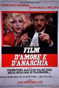 Ver película Amor y anarquía