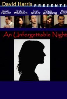 An Unforgettable Night