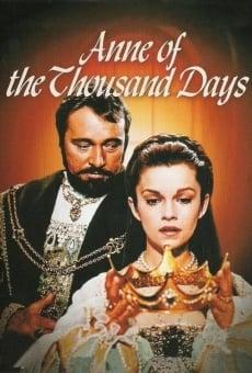 Ver película Ana de los mil días